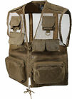 Coyote Brown Military Multi-Pocket Recon Vest