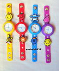 MR MEN / LITTLE MISS JIBBITZ BAND WATCH  & A SELECTION OF 10  CHARMS, BRAND NEW