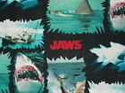 Jaws Quilting Fabric, Scenes, Torn Patches, Multi, 100% Cotton, FQ, BTHY, BTY