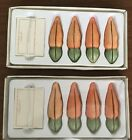 8 RUSS Carots SPRING Settings PLACE CARD HOLDERS