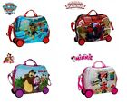 Trolley bagaglio a mano cavalcabile personaggi DISNEY 41 X 34 X 20 CM idea regal