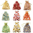 100 PCS Gift Bags Gauze Organza Bag Jewelry Packing Pouch Wedding Favor 10x12cm