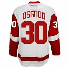 Chris Osgood Detroit Red Wings Road Jersey by Reebok