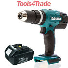 Makita DHP453Z 18V LXT 13mm 2 Speed Combi Drill With 1 x 3.0Ah BL1830 Battery