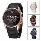 Watch Analog Silicone Wristwatch Fashion Business Men's Casual Quartz Royal Mial