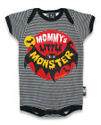 Six Bunnies mommys monster bat vest alternative goth rock punk metal baby gift