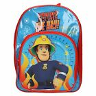 Boys Character Fireman Sam Backpack - Arch