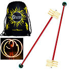 FYREFLI FORM Fire Swinging Torch- 2 x Fire  Torches + Travel Bag!  Fire Juggling
