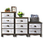 Clearance Sale! Wooden Chest Drawer Storage Unit Bedside End Living Room Table