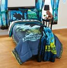 JURASSIC WORLD Dinosaur Park COMFORTER + SHEETS SET Bed in a Bag Room Twin Full