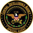 Sticker All United States Cia Special Agent
