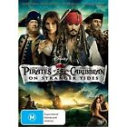 PIRATE OF THE CARIBBEAN 4:On Stranger Tides-Region 4-New AND Sealed