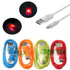 Universal Over 2A Quick GLOW Light Up LED Micro USB Charger Data Sync Cable Cord