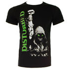 Official T Shirt DISTURBED Black UP YOUR FIST Band Tee All Sizes