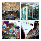 """5pcs/lot 12"""" Candy Color Round Chinese Hanging Paper Lanterns for Party Decor S3"""