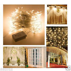 3*3M 300 LED String Window Curtain Icicle Lights Xmas Wedding Party Garden Decor