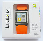 New Iwatchz Wristband Watch Strap for Ipod Nano 6th generation 9 colors