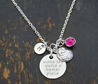 Make the world a better place Necklace, Sweet 16, Rescue,Greenpeace,PERSONALIZED