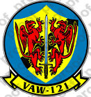 STICKER USN VAW 121 Early Warning Squadron
