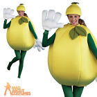 Adult Lemon Costume Unisex Food and Drink Funny Novelty Fancy Dress Outfit New