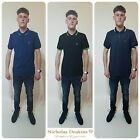 Mens Deisgner Nicholas Deakins Stylish Tipped T Shirt Polo Shirt Top Casual Tee