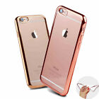 For New iPhone 7 Case Transparent Crystal Clear Case Gel TPU Soft Cover Skin <br/> ✔ iPhone 6,6S,7 7 PLUS 8 X ✔ UK STOCK ✔ Fast Shipping