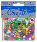 BALLOON & SWIRLS FOILETTI - FOIL CONFETTI 14g PACK - SCATTER OVER PARTY TABLES!