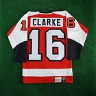 1974 75 Bobby Clarke Philadelphia Flyers Mitchell  Ness Orange Authentic Jersey