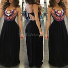 Women Sexy Summer Dress Boho Maxi Long Evening Party Dress Beach Dress Sundress