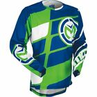 Moose Racing 2017 Blue Green YOUTH S7 MX Motocross Jersey