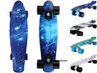 "Penny Style 22"" Cruiser Skateboard Graphic Galaxy Retro Plastic Skateboard image"