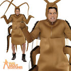 Adult Cockroach Costume Insect Bug Mascot Animal Halloween Fancy Dress Outfit