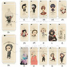 Funny Cute Anime Tokyo Ghoul Pattern Soft/Hard Case Cover For iPhone 7/7Plus