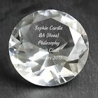 Personalised Engraved Diamond Paperweight - Mothers Day, Birthdays, For Her