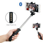 For iPhone 6S 6 Plus Samsung S6 Bluetooth Selfie Stick Extendable Monopod Tripod