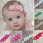 Baby Girls Flower Hairband Soft Elastic Headband Gifts Hair Accessories Band