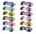 Classic Wayfarer Sunglasses - Coloured Frame (Men's / Women's) Excellent Quality