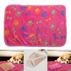 Warm Pet Mat Small Large Cat Dog Puppy Fleece Soft Blanket Bed Cushion 6 colors
