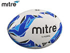 *BRAND NEW* MITRE SABRE - TRAINING RUGBY BALL - SIZE - 1,3,4,5 - WHITE/BLUE/CYAN