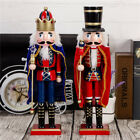 "15"" Wooden German Nutcracker Soldiers Christmas Walnut Soldiers Decoration"