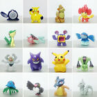 Mini Pokemon Monster Action Figures Cartoon Anime Small Animal Doll Toys 2-3cm