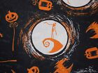 Nightmare Before Christmas Fabric Jack Skellington 100% Cotton Camelot Fabrics