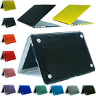 Hard Rubberrized Crystal Cell Laptop Case Shell for MacBook Air 11.6'' 13.3''