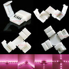5Pin L T Cross Shape PCB Connector For RGB White RGBW 5050 Led Strip 10mm/12mm