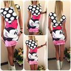 Sexy Women Cute Cartoon Party Bodycon Short Dress Dresses Cherrykeke Clothing