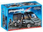 Playmobil 6043 City Action Police Van With Lights And Sound (4+)