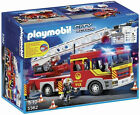Playmobil 5362 City Action Fire Brigade Engine Ladder Unit with Lights (4+)