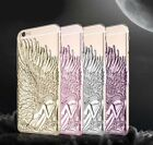 3D Angel Wings Carved Embossed Artwork Case Cover for iphone 5 5s SE 6 6Plus