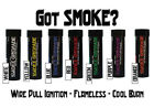 Tactical Smoke for Personel & Home Invasion Protection - FLAMELESS - Lasts 90 sc