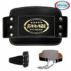 Farabi LeatherWeight Lifting Dipping Belt Strength Training Body Building Squat